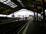 Waiting for the train home in Lausanne